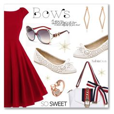 """""""Put a Bow on It!"""" by dressedbyrose ❤ liked on Polyvore featuring vintage"""