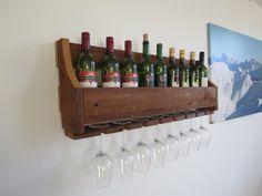 Wijnrek van speciaal Fins modiwood