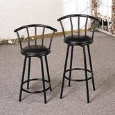 "Found it at Wayfair - Wildon Home ® 24"" Bar Stool in Black"