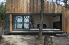 Modern Lake Cabin Design