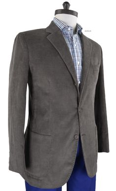 Dark Hazel Corduroy jacket from Luxire is an example of sophistication in casual style: http://custom.luxire.com/products/dark_hael_corduroy  Features: Welt pocket, patch pockets and notch collar.