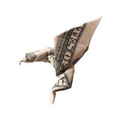 Origami formas increibles con un billete de un dólar14z