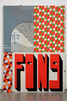 PRISM | Barry McGee, Untitled (Four Panels), 2009