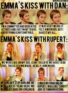 So sweet! Oh, Emma!