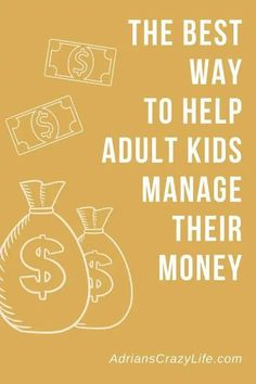 Sometimes our adult kids don't use good judgement. We love them so we sometime help them a little TOO much. Adulthood is a time for them to stand on their own two feet, but part of good parenting is to gently ease them out of the nest and allow them to take full responsibility for their financial lives. Mindful Parenting, Parenting Teens, Good Parenting, Parenting Hacks, Best Money Saving Tips, Saving Money, Show Me The Money, Money Savers, Attachment Parenting