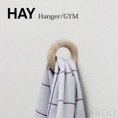 HAY(ヘイ) / GYM HOOK Sサイズ 壁 木製 フック ハンガー