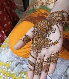 Modern Henna Designs, Basic Mehndi Designs, Beginner Henna Designs, Latest Bridal Mehndi Designs, Mehndi Designs 2018, Mehndi Designs For Girls, Mehndi Designs For Fingers, Khafif Mehndi Design, Floral Henna Designs