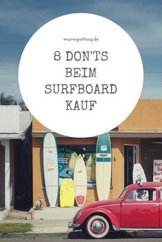 Surfen || Surf Tipps || Ideen || Tips || Surfing || Surfboard