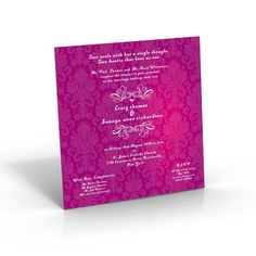 Square Wedding Invites | Classical Wedding Invitations - Amazing Wedding Cards http://shar.es/hFYC5