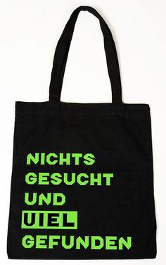 Baumwollbeutel Tasche Bag - Nichts gesucht witziger Spruch: Amazon.de: Koffer…