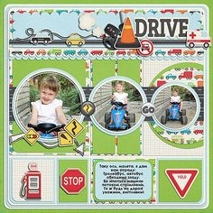 - On the Road by Kristin Aagard Designs   - template by Kay Miller