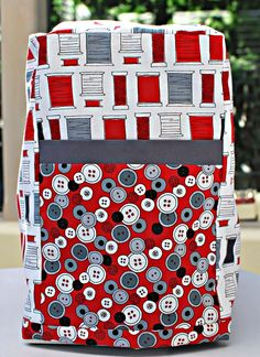 Sewing machine cover pattern