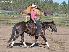 Get Your Horse's Rear in Gear~Linda Parelli tells a reader to straighten up to get her horse to drive from behind.