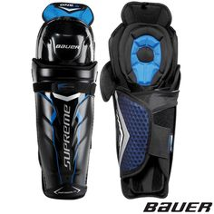 Bauer's Supreme One.8 shin guards offer great protection in a stylish technical shin guard. This shin guard offers Vent Armor knee cap protection for impact protection while still allowing for airflow to keep you cooler during play. The One.8 shins also include a wrapped calf guard with Vent Armor foam.