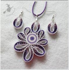 Elegáns lila - fehér.