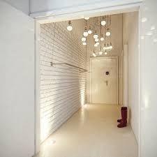 Znalezione obrazy dla zapytania loft korytarz biały