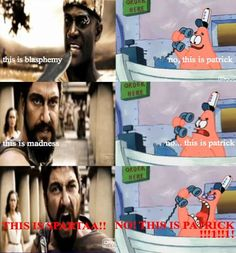 no this is sparta