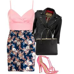 Santana Lopez inspired outfit / Glee by tvdsarahmichele on Polyvore featuring Topshop, Superdry, J.Crew, Charlotte Olympia and Dolce&Gabbana