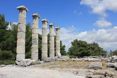 Athena Tapınağı, Priene Ören Yeri, Aydın, Türkiye