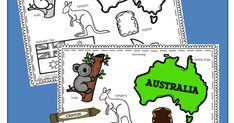 Celebrate Australia Day this January 26th with these free printable coloring pages  for Toddler, Preschool, Kindergarten, and 1st grade ki...