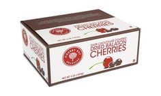 $34 Dark Chocolate Covered Dried Balaton Cherries (with sugar) 4lb box by Cherry Bay Orchards, http://www.amazon.com/dp/B0079664W6/ref=cm_sw_r_pi_dp_EZuVqb0K1X9SM