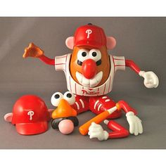 MLB Philadelphia Phillies Mr. Potato Head by PPW Toys, $15.78http://www.amazon.com/dp/B000VLI7NK/ref=cm_sw_r_pi_dp_POLNqb19Y7G2F