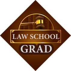 Law School Grad Tassel Topper