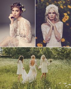 Inspiration for throwing the ultimate boho woodland wedding