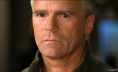Stargate's Jack O'Neill---Oh How I could get lost in those chocolate brown eyes <3