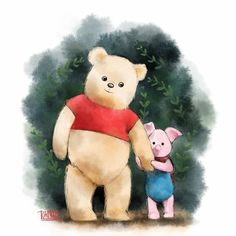 Image uploaded by NickPrincess. Find images and videos about disney and winnie pooh on We Heart It - the app to get lost in what you love. Winnie The Pooh Pictures, Winnie The Pooh Quotes, Winnie The Pooh Friends, Teddy Bear Cartoon, Cute Teddy Bears, Disney Nerd, Cute Disney, Pooh Bear, Tigger
