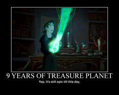 Treasure Planet Motivational by 23jk.deviantart.com on @deviantART