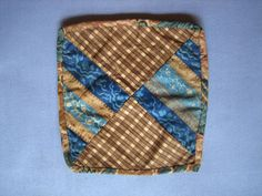 Pieced potholder SE PA early 19th c. : The Herr's Antiques