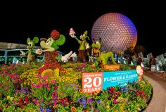 Epcot Flower & Garden Festival 2014 Guide - Starts this week! Here's what you need to know.