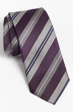 BOSS Black Woven Silk Tie available at #Nordstrom