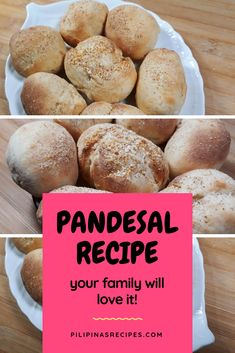 This delicious homemade Pandesal #recipe will make your family smile!