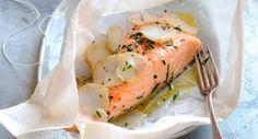 Papillote de saumonDécouvrir la recette de la papillote de saumon