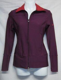 Womens Extra Small Nike Jacket NEW Ladies XS Zippered Jacket Womens XS Top NICE$29.99