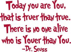 You is You