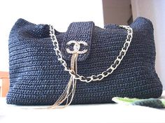 PDF patterncrocheted bag BX03 Channel style handbag by loveDIYlife