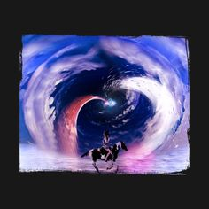 girl riding the horse - Surreal Landscape - T-Shirt | TeePublic Surrealism, Waves, Photoshop, Horses, Landscape, T Shirt, Outdoor, Supreme T Shirt, Outdoors