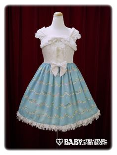Baby, the stars shine bright Fairy Topialium ~ Promise in the Forest of Trifolium~ Arvense jumper skirt