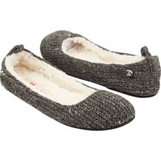 ROXY Hot Cocoa Womens Slippers grey