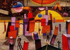 Xul Solar was an Argentine painter, sculptor, writer, and inventor . Abstract Painters, Abstract Art, Art Database, Museum Of Fine Arts, Color Theory, American Artists, Find Art, Amazing Art, Original Artwork