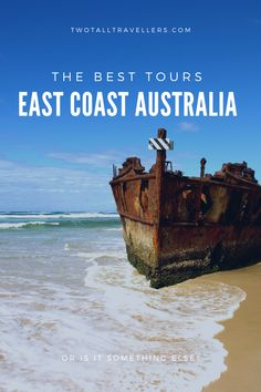 Australia is a HUGE country, and it can be overwhelming to decide exactly what to do and see, and how to organise your activities! The east coast is a great place to start if you're stuck on what to do. We've rounded up 20 of the best east coast Australia tours that will smash your bucket list and kick off your love affair with 'Straya! Travel Australia | Road Trip | Tour Guide | Sydney | Byron Bay | Gold Coast | Cairns | Fraser Island | Airlie Beach | Whitsundays | Cape Tribulation… Australia Tours, Coast Australia, Australia Travel, Brisbane, Sydney, Trip Tour, Fraser Island, Airlie Beach, Adventure Activities