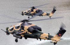 Törökország átvette az első T129-es harci helikoptereit