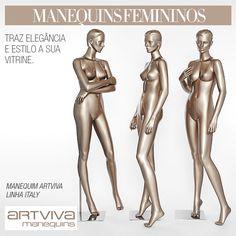 Manequins femininos - linha Italy Artviva Manequins