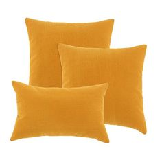 I pinned this 3 Piece Butterscotch Pillow Set from the Cozy Comforts event at Joss and Main!