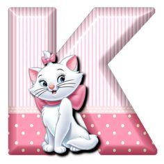 K Cat Marie (Alphabets by Mónica Michielin)