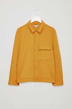 94834ae5fc Cos Cotton-Twill Shirt Jacket - Mustard S