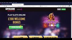 Play Slots Online £200 Welcome Bonus at Super Casino thru popularbingosi...